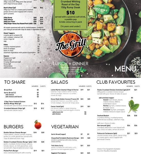 Wynnum-The-Grill-Menu